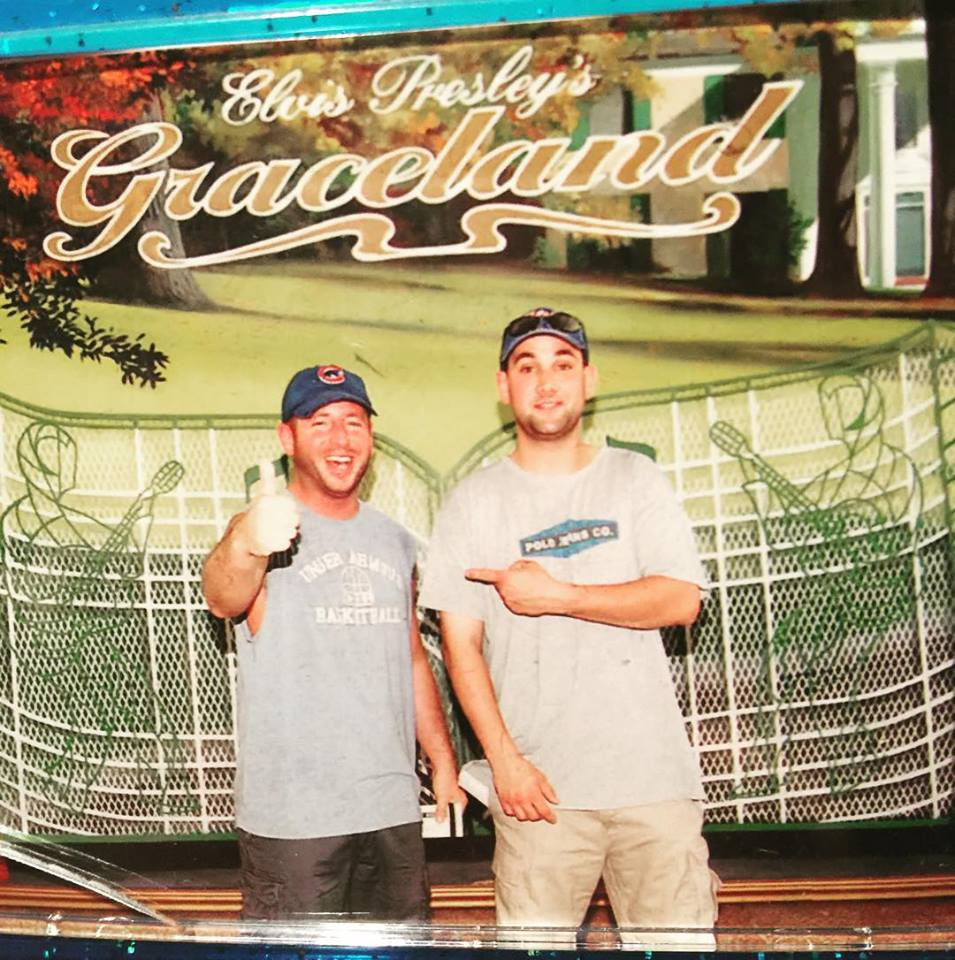 me and beau at graceland