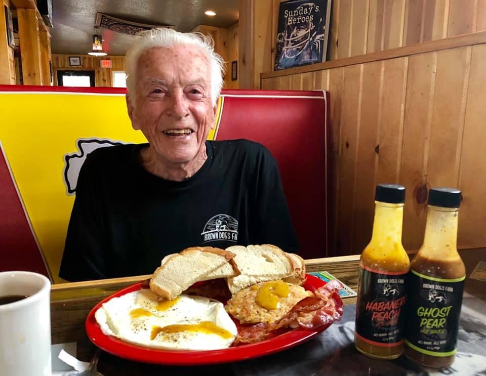 Grandpa at Truman's